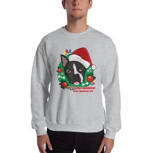 Holiday Pup - Gildan Heavy Blend Crewneck Sweatshirt