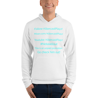 #Notasellout - Bella + Canvas Unisex Fleece Pullover Hoodie