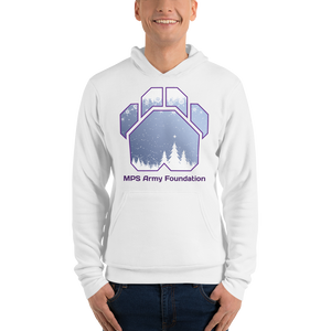 White Christmas - Bella + Canvas Unisex Fleece Pullover Hoodie