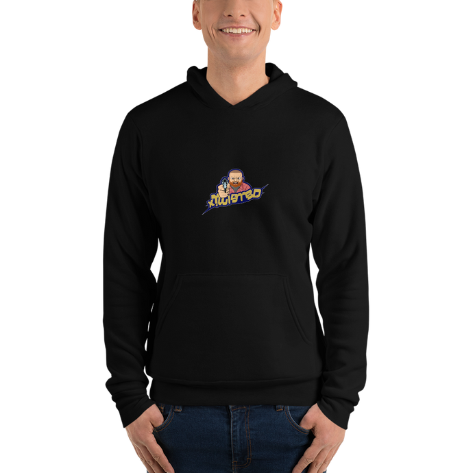 xTwisted  - Bella + Canvas Unisex Fleece Pullover Hoodie
