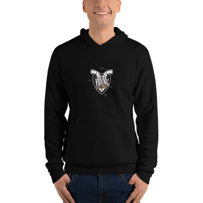 YG Stream team - xTwisted logo - Bella + Canvas Unisex Fleece Pullover Hoodie