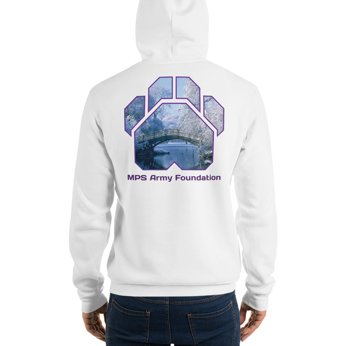 Winter Bridge - Bella + Canvas Unisex Fleece Pullover Hoodie