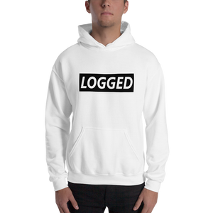 Logged - Gildan Heavy Blend Hooded Sweatshirt