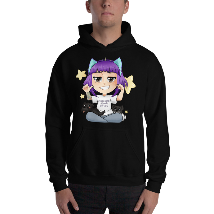 Ultimate Mixer Waifu - Gildan Heavy Blend Hooded Sweatshirt