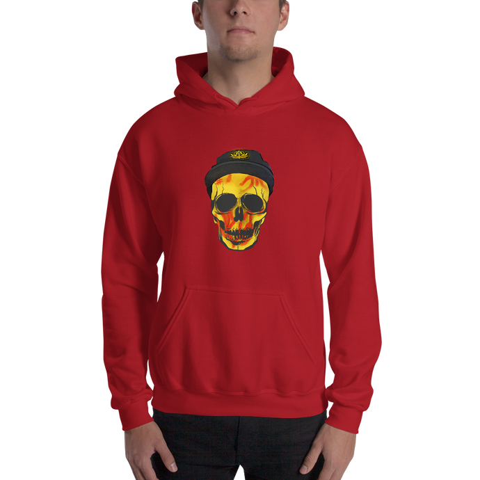 Captain Skids Logo - Gildan Heavy Blend Hooded Sweatshirt