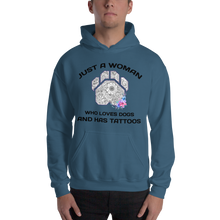 Dogs and Tattoos - Gildan Heavy Blend Hooded Sweatshirt