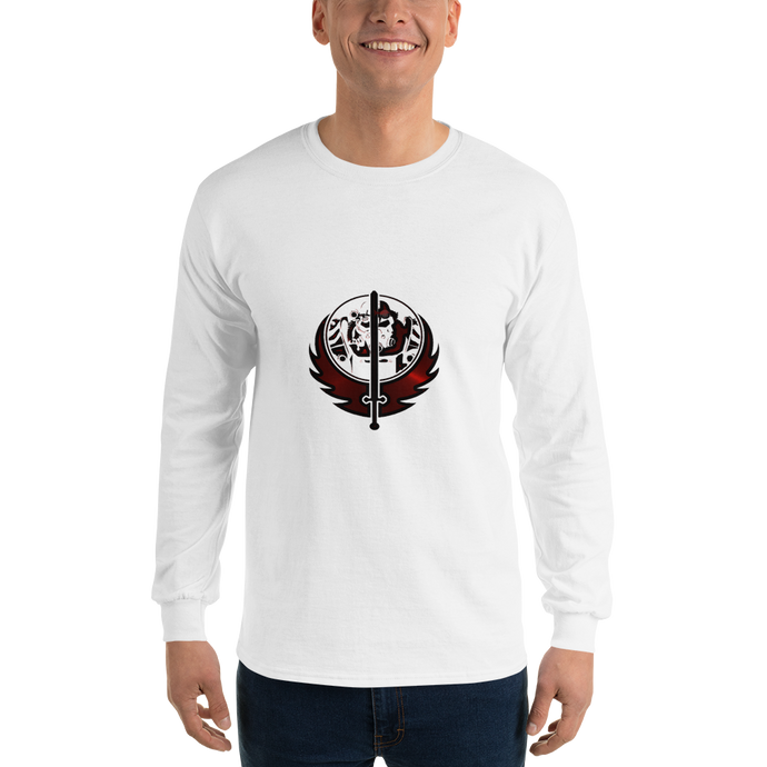 Canadian Ninja Knight - Gildan Ultra Cotton Long Sleeve T-Shirt