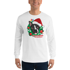 Holiday Pup - Gildan Ultra Cotton Long Sleeve T-Shirt