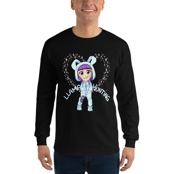 Llama Hunting - Gildan Ultra Cotton Long Sleeve T-Shirt