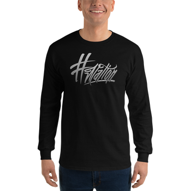 #Nation - Gildan Ultra Cotton Long Sleeve T-Shirt