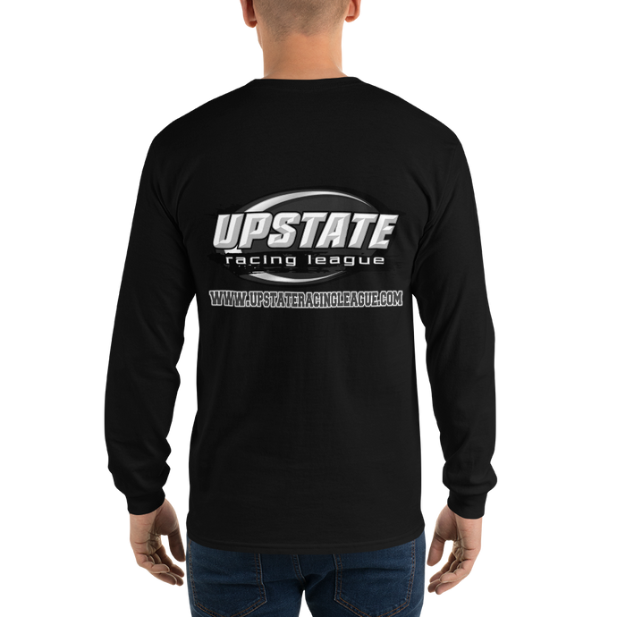 URL (Logo Back or Front Only) - Gildan Ultra Cotton Long Sleeve T-Shirt