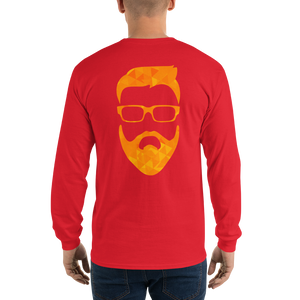 tiny geo face - Gildan Ultra Cotton Long Sleeve T-Shirt