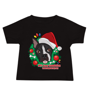 Holiday Pup - Bella + Canvas Baby Jersey w/ Tear Away Label