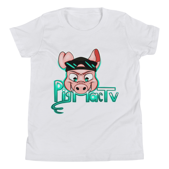 Bad Piggy - Bella + Canvas Youth Short Sleeve Tee w/ Tear Away Label