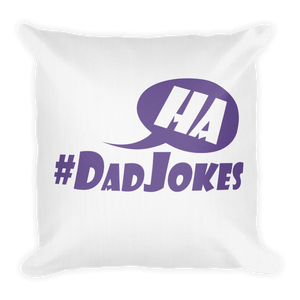 #DadJokes - Premium Pillow