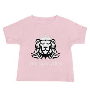The Lion's Den with Lion - Bella + Canvas Baby Jersey w/ Tear Away Label