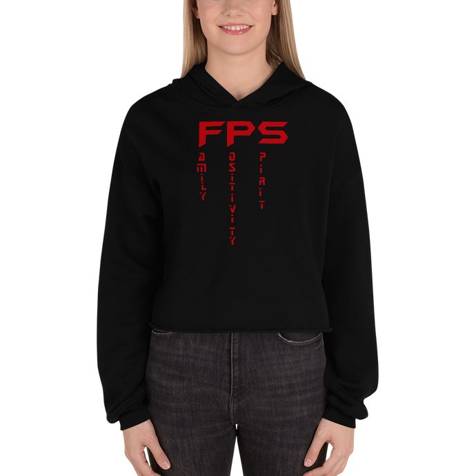 FPS - Bella + Canvas Women's Fleece Crop Hoodie