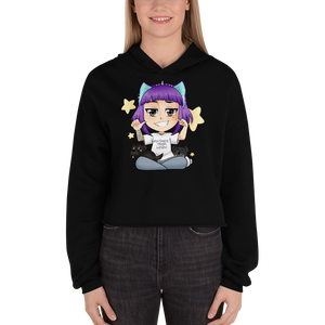 Ultimate Mixer Waifu - Bella + Canvas Women's Fleece Crop Hoodie