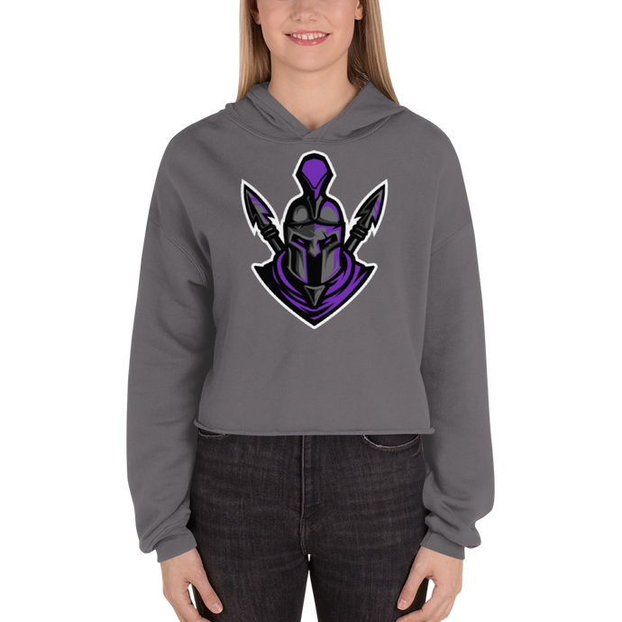 CriXicus  - Bella + Canvas Women's Fleece Crop Hoodie