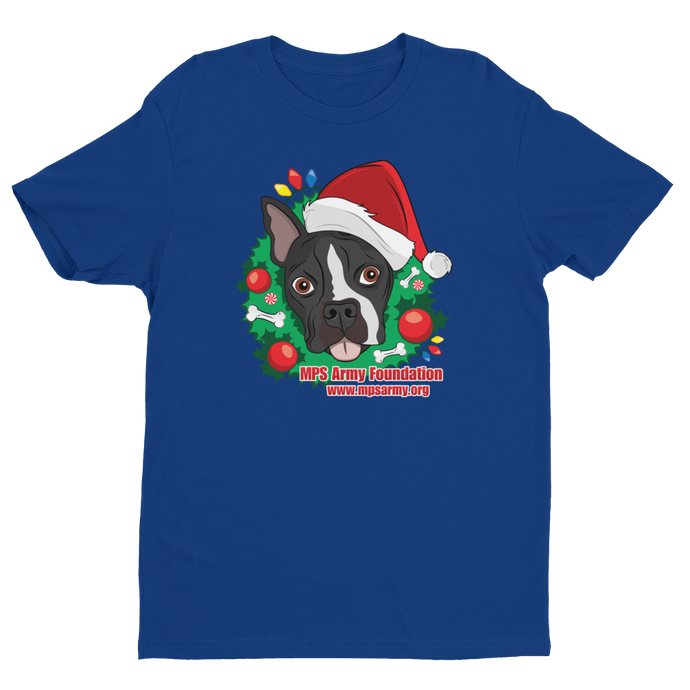 Holiday Pup - Next Level Premium Fitted Short Sleeve Crew w/ Tear Away Label