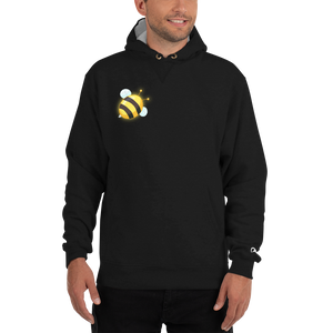 Bee Logo - Champion Cotton Max Hoodie