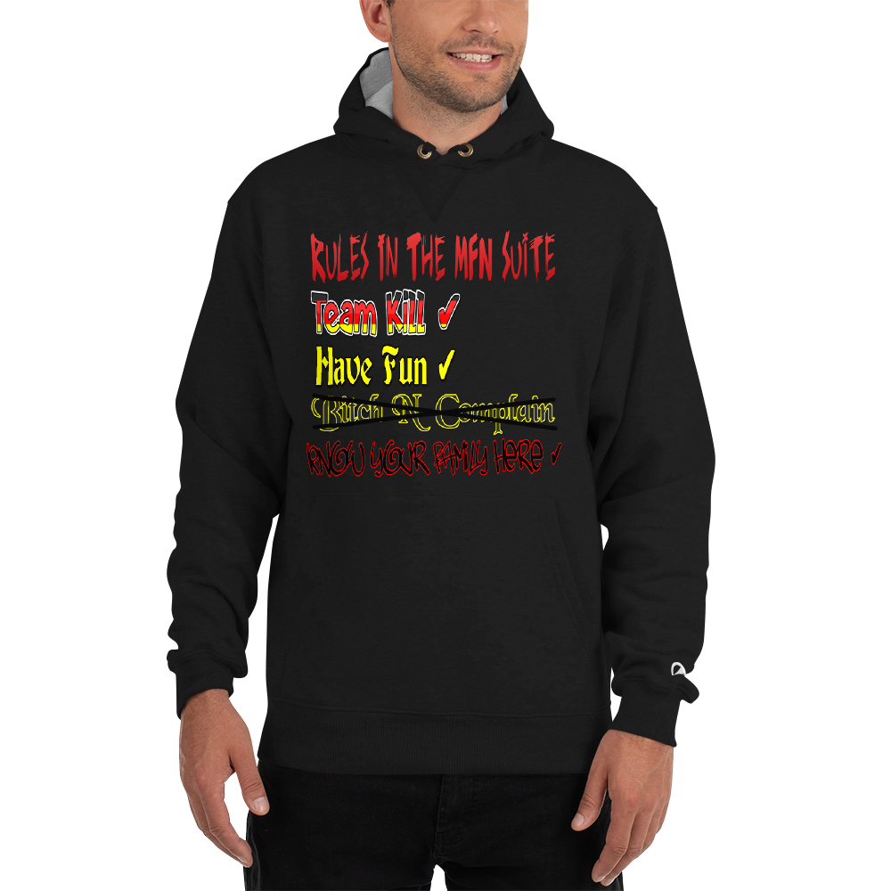MFN Suite Rules - Champion Cotton Max Hoodie