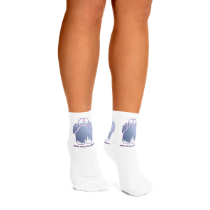 White Christmas - Sublimated Ankle Socks