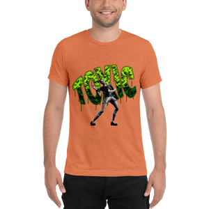 Mythic Toxic - Bella + Canvas Unisex Triblend T-Shirt with Tear Away Label
