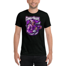 CombatGrape - Bella + Canvas Unisex Triblend T-Shirt with Tear Away Label