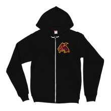 Dragon - American Apparel Unisex Fleece Zip Hoodie
