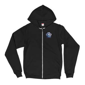 Winter Bridge - American Apparel Unisex Fleece Zip Hoodie