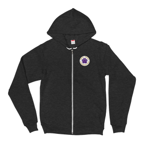 MPS Army Team - American Apparel Unisex Fleece Zip Hoodie