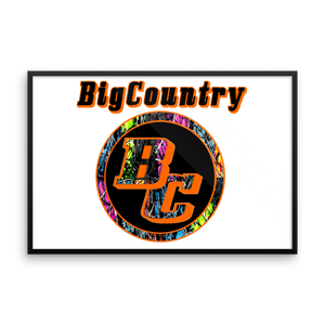 BigCountry Framed Matte Posters
