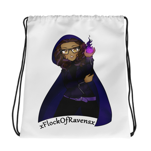 FlockOfRavens Drawstring Backpack
