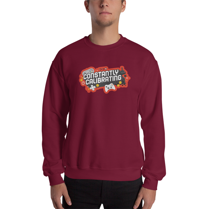 Constantly Calibrating Sweatshirt