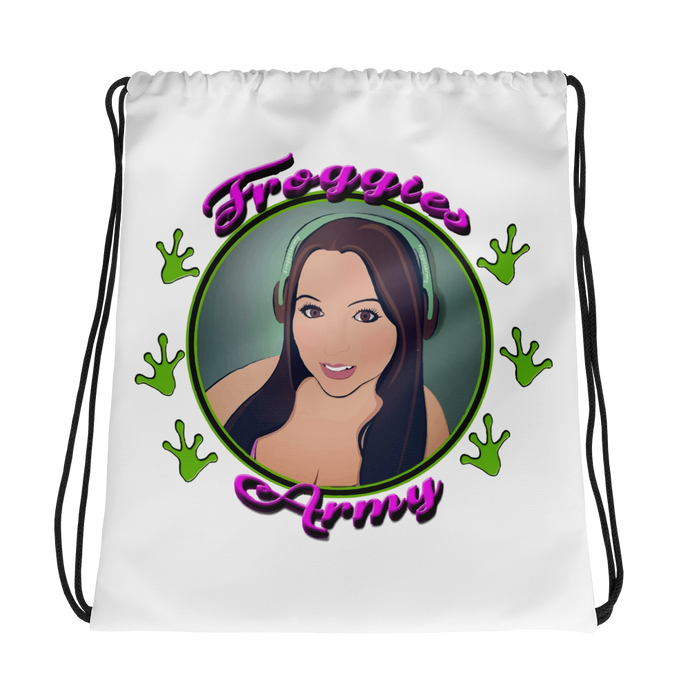 FroggiesArmy Drawstring Backpack