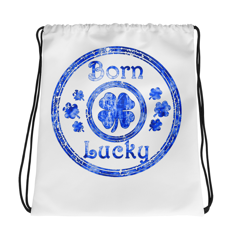 BornLucky Drawstring Backpack