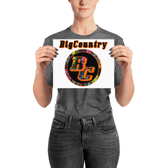 BigCountry Matte Posters