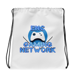 ENC Gaming Network Drawstring Backpack