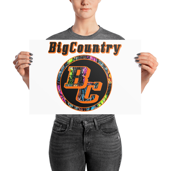 BigCountry Luster Posters
