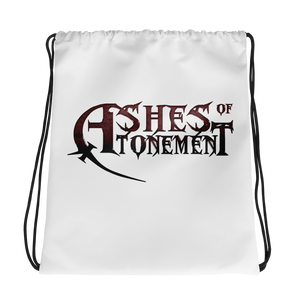 Ashes of Atonement Drawstring Backpack