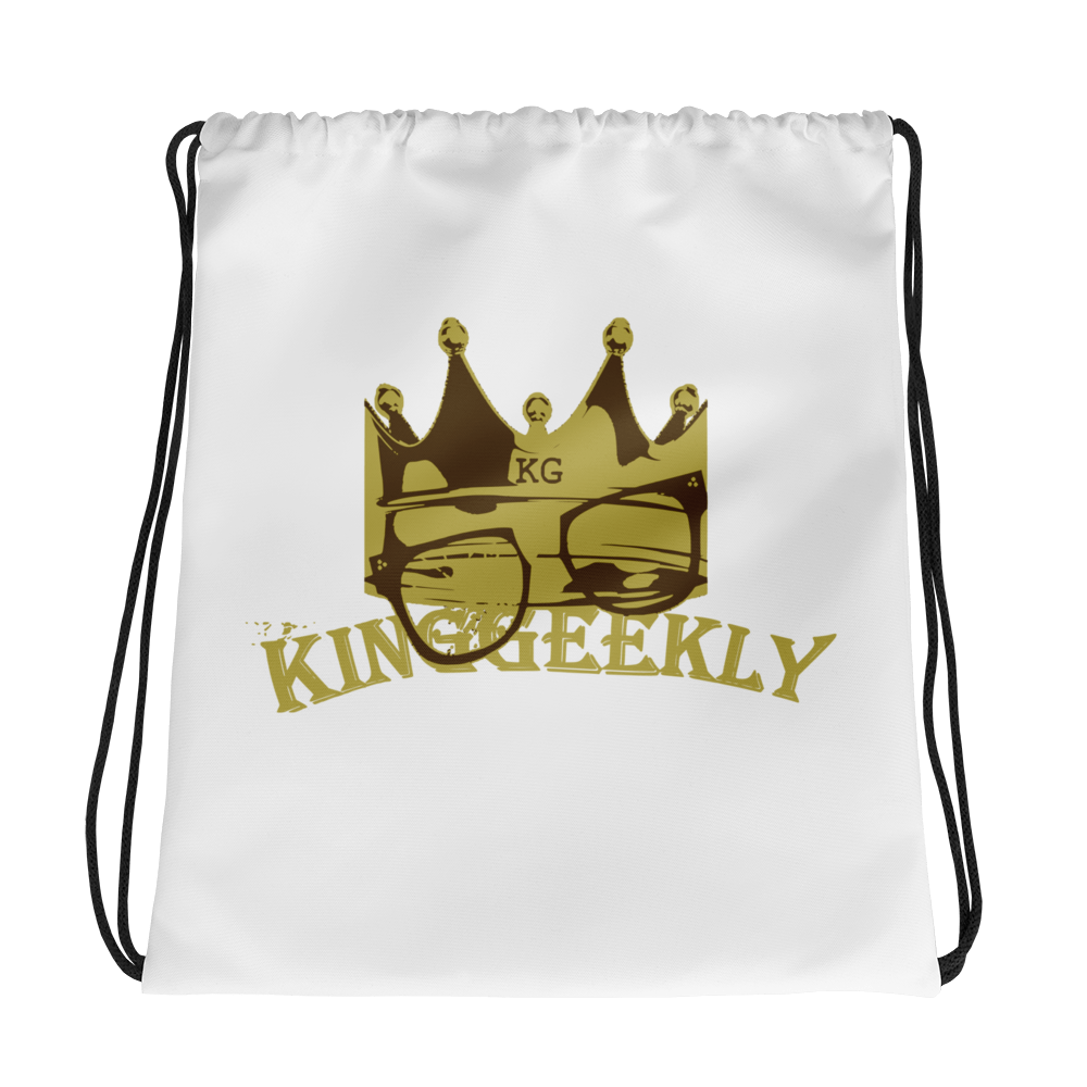 KingGeekly Drawstring Backpack
