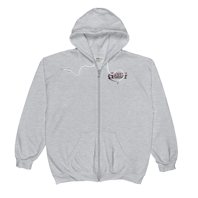 Ashes of Atonement Zip Hoodie