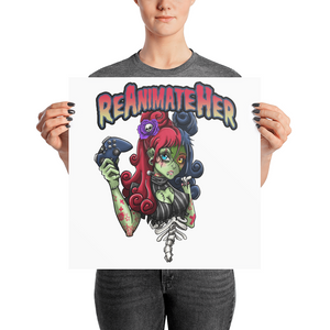 ReAnimateHer Luster Posters