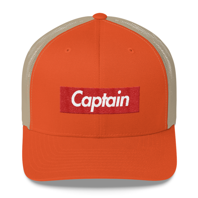 Captain Skids Mesh Back