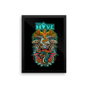 The Hive Framed Matte Posters