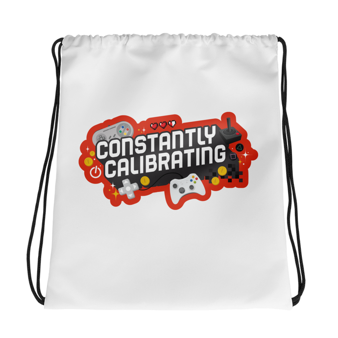 Constantly Calibrating Drawstring Backpack