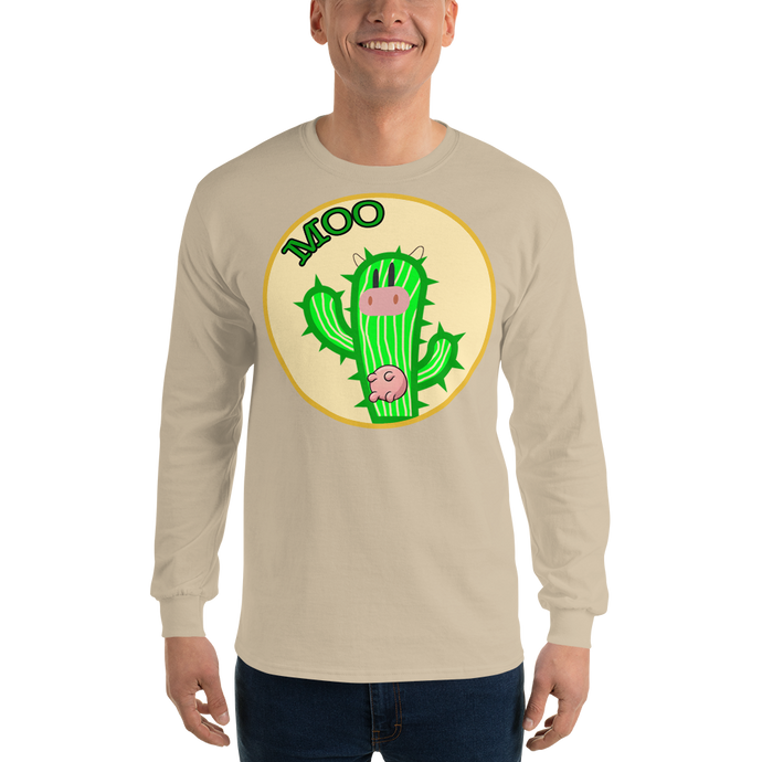 Moo ima Cactus Long Sleeve