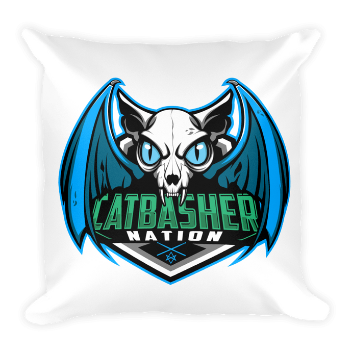 CatBasherNation Pillow