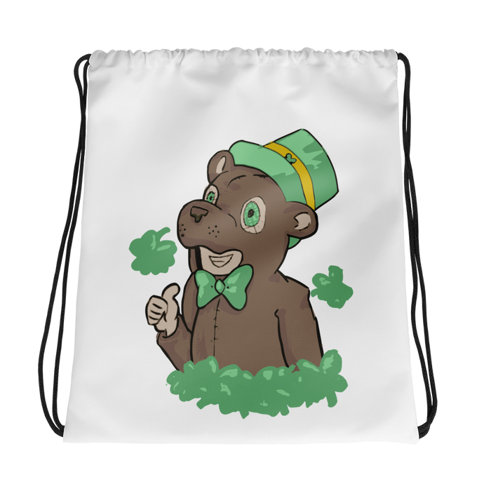 Bearichaun Drawstring Backpack